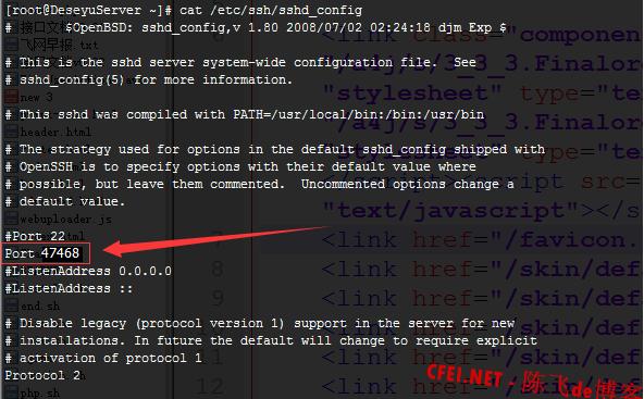 [centos6.5、centos6.6修改ssh默认端口号][ssh默认22端口修改]-飞网