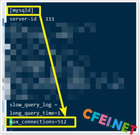 MySQL修改连接数-飞网